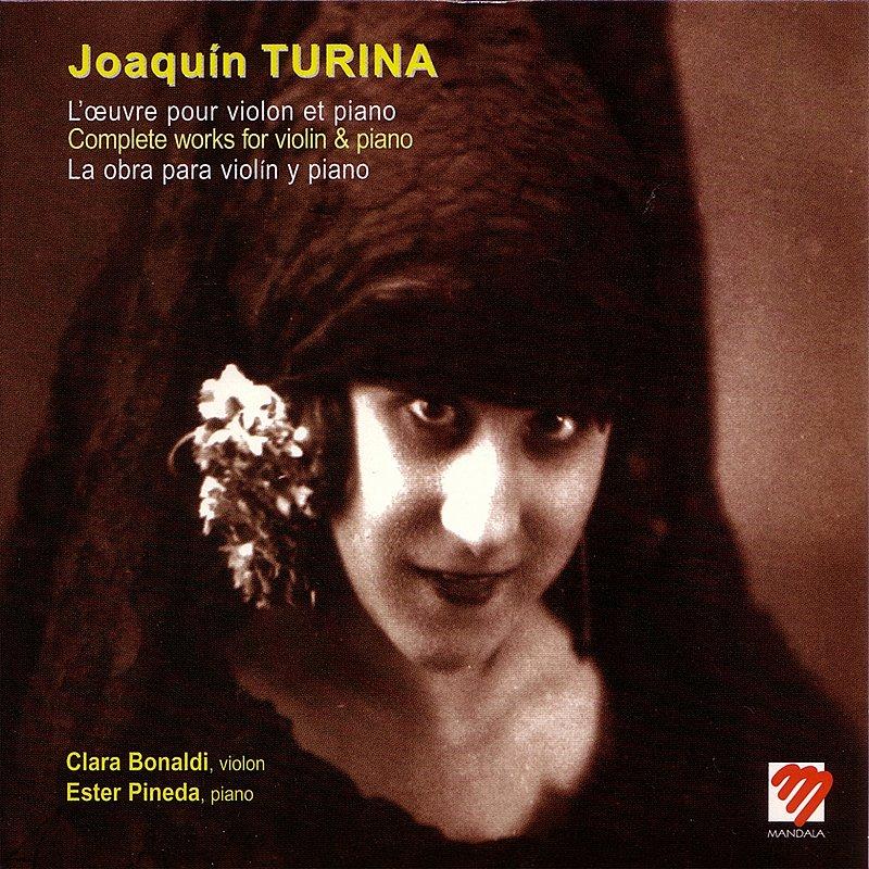 Cover Art: L'oeuvre Pour Violon Et Piano De Joaquín Turina (La Obra Completa Para Violín Y Piano De Joaquín Turina)
