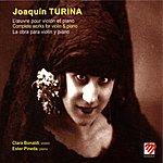 Cover Art: L'oeuvre Pour Violon Et Piano De Joaqu-n Turina (La Obra Completa Para Viol-n Y Piano De Joaqu-n Turina)