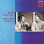 Pierre Amoyal Brahms: Violin Sonatas Nos.1-3