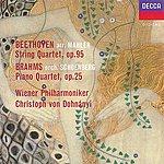 Wiener Philharmoniker Beethoven (Arr.Mahler): String Quartet No.11 / Brahms (Orch.Schoenberg): Piano Quartet No.1