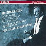 "Academy Of St. Martin-In-The-Fields Mendelssohn: Symphonies Nos.3 ""Scottish"" & 4 ""Italian"""