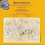"""André Previn Beethoven: Piano Concerto No. 5 """"Emperor""""; Choral Fantasia"""