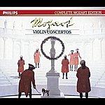 Henryk Szeryng Mozart: The Violin Concertos (4 CDs, Vol.8 Of 45)