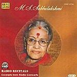 M.S. Subbulakshmi M.S.S - Radio Recitals - Vol. 1