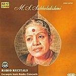 M.S. Subbulakshmi M.S.S - Radio Recitals - Vol. 4