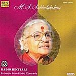 M.S. Subbulakshmi M.S.S - Radio Recitals - Vol. 3