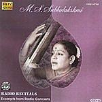 M.S. Subbulakshmi M.S.S - Radio Recitals - Vol. 2