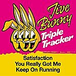 Jive Bunny & The Master Mixers Jive Bunny Triple Tracker: Satisfaction / You Really Got Me / Keep On Running