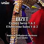 Budapest Philharmonic Orchestra Bizet, G.: Carmen Suites Nos. 1, 2 / L'arlesienne Suites Nos. 1, 2