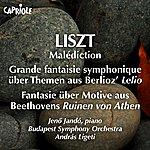 Jenő Jandó Liszt, F.: Malediction / Grande Fantaisie Symphonique On Themes From Berlioz's Lelio / Fantasie On Motive From Beethoven's Ruinen Von Athen