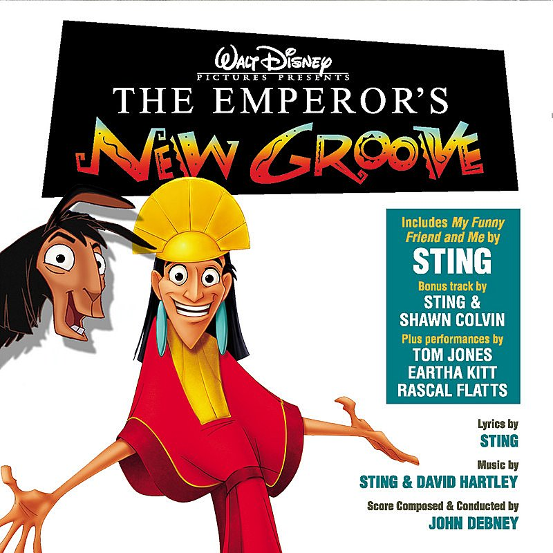 Cover Art: The Emperor's New Groove