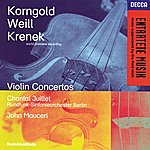 Chantal Juillet Korngold / Weill / Krenek: Violin Concertos