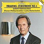 Wiener Philharmoniker Brahms: Symphony No.3; Haydn-Variations