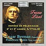 Lazar Berman Franz Liszt : Années De Pèlerinage, 2e Et 3e Année: L'italie