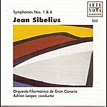 Adrian Leaper Sibelius: Sym. No. 6 And No. 1
