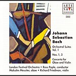 Ross Pople Bach: Orchestral Suites Vol. 1 No. 1+2 Concerto For Oboe And Violin