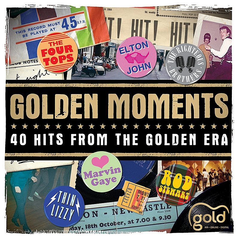 Cover Art: Golden Moments