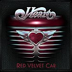 Heart Red Velvet Car