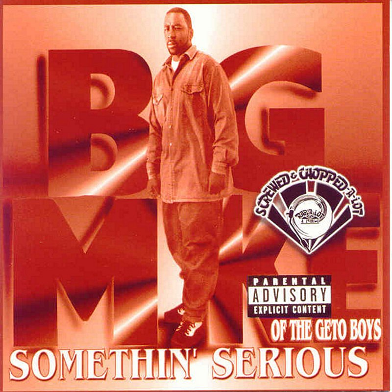 Cover Art: Somethin' Serious (Screwed & Chopped)