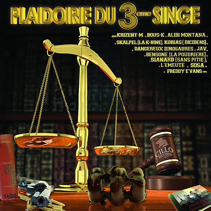 Cover Art: Plaidoirie Du 3eme Singe