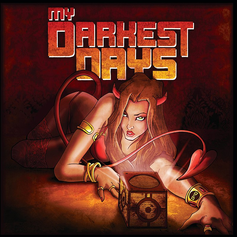 Cover Art: My Darkest Days