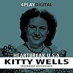 Kitty Wells Heartbreak U.S.A. - 4 Track Ep