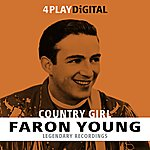 Faron Young Country Girl - 4 Track Ep