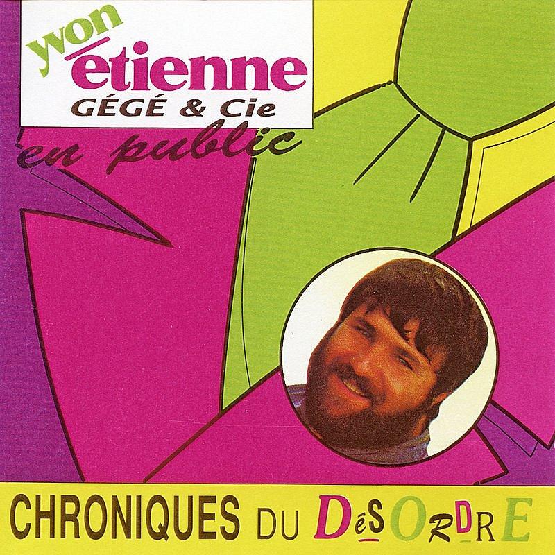 Cover Art: Chroniques Du Désordre (Avec Gégé & Cie)