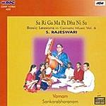 S. Rajeswari Basic Lessons In Carnatic -S. Rajeswari