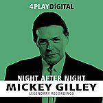 Mickey Gilley Night After Night - 4 Track Ep