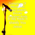 Unknown Artist In My Heart I Manify You Jesus - Single