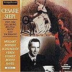 Cesare Siepi Cesare Siepi : The 1956 Salzburg Recital With Leo Taubmann