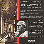 Elisabeth Schwarzkopf Johann Sebastian Bach : Alt-Kantaten Bwv 53, 54 & 170