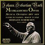 Hermann Scherchen Johann Sebastian Bach : Musikalisches Opfer : Musical Offering Bwv 1079