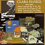 Clara Haskil Wolfgang Amadeus Mozart : Piano Concerto No.27 Kv 595, Concerto For Two Pianos Kv 365 - Johann Sebastian Bach : Concerto For Two Pianos