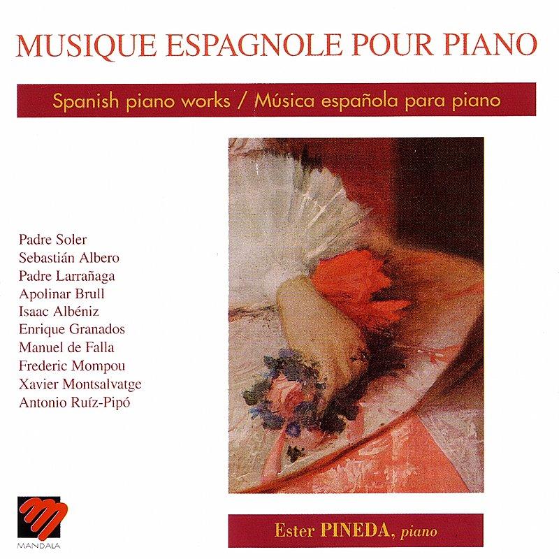 Cover Art: Musique Espagnole Pour Piano