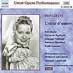 Giuseppe Valdengo Donizetti: Elisir D'amore (L') (Metropolitan Opera) (1949)