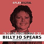 Billie Jo Spears I'm So Lonesome I Could Cry - 4 Track Ep
