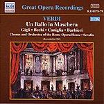 Maria Caniglia Verdi: Ballo In Maschera (Un) (Gigli, Caniglia) (1943)