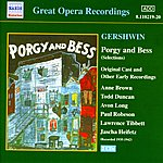 Paul Robeson Gershwin: Porgy And Bess (Original Cast Recordings) (1935-1942)