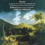 Wiener Symphoniker Wofgang Amadeus Mozart : Symphony No. 39, Symphony No. 40, Claude Debussy : Danses Sacrée Et Profane