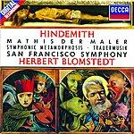 San Francisco Symphony Orchestra Hindemith: Symphonie 'mathis Der Maler' / Trauermusik / Symphonic Metamorphosis