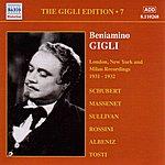 Beniamino Gigli Gigli, Beniamino: Gigli Edition, Vol. 7: London, New York And Milan Recordings (1931-1932)
