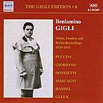 Beniamino Gigli Gigli, Beniamino: Gigli Edition, Vol. 8: Milan, London And Berlin Recordings (1933-1935)