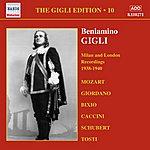 Beniamino Gigli Gigli, Beniamino: Gigli Edition, Vol. 10: Milan And London Recordings (1938-1940)