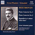 Artur Schnabel Beethoven: Piano Concertos Nos. 1 And 2 (Schnabel) (1932, 1935)