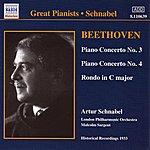 Artur Schnabel Beethoven: Piano Concertos Nos. 3 And 4 (Schnabel) (1933)