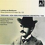 New York Philharmonic Ludwig Van Beethoven: Missa Solemnis In D Major, Op. 123