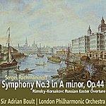 Sir Adrian Boult Rachmaninoff: Symphony No. 3 - Rimsky-Korsakov: Russian Easter Overture
