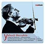 Yehudi Menuhin Menuhin, Yehudi: Beethoven, Brahms, Mendelssohn, Tchaikovsky, Mozart, Saint-Saens (1936-1957)